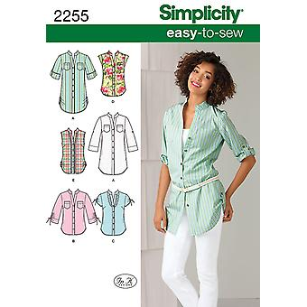 Simplicity Misses Tops Vests 6 8 10 12 14 U02255h5