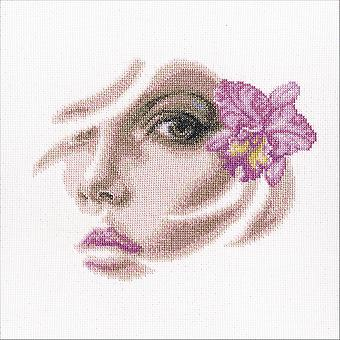 Tropical Orchidee Counted Cross Stitch Kit-8.75