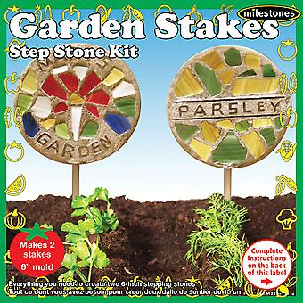 Meilensteine Stepping Stone Kit-Garden Stake 90115212