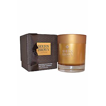 Fra Molton Brown enkelt veken stearinlys 180g fascinerende Oudh Accord & gull