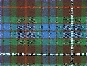 Fraser Hunting, Ancient - Pure Wool Tartan