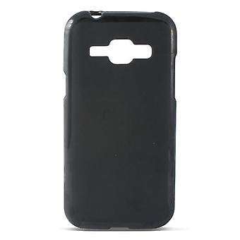 Ksix Case tpu flex j1 galaxy black (Casa , Elettronica , Telefoni , Accessori)