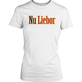 Nu Liebor cospirazione Ladies T Shirt