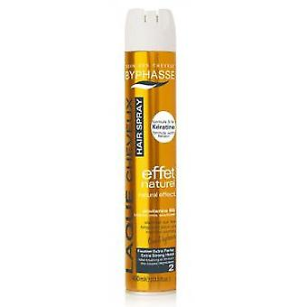 Byphasse Effect Extra Strong hairspray 400ml With Keratin