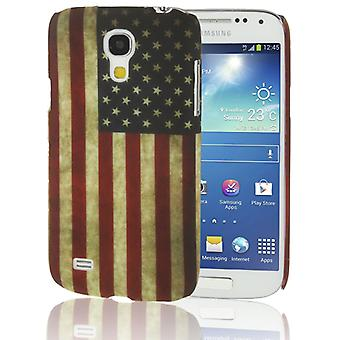 Cover cell phone case for Samsung Galaxy S4 retro United States flag mini i9190