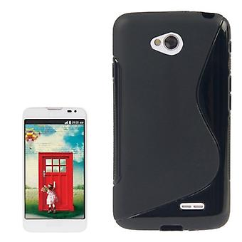 Mobile Shell S line TPU case for LG L70 / dual D325 black