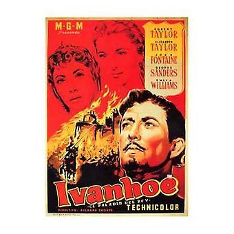 Ivanhoe film plakat (11 x 17)