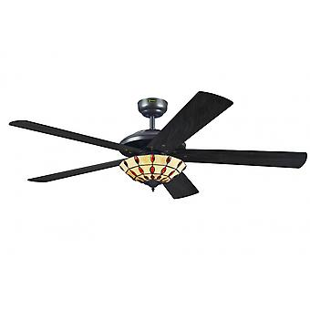 "Westinghouse ceiling fan Comet Tiffany 132 cm / 52"" with lighting"