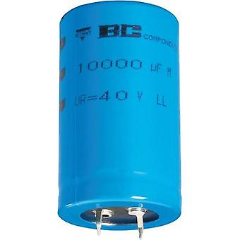 Electrolytic capacitor Snap-in 10 mm 4700 µF 25 V 20 % (Ø x H) 25 mm x 30 mm Vishay 2222 058 56472 1 pc(s)