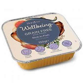 Burgess Wellbeing Wet Fish 120g (Pack of 12)