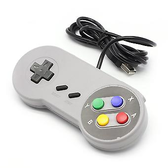 Kabalo Replacement USB Gamepad Joypad Gaming Controller Super Nintendo SNES Game Console Design