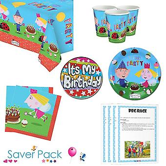 Ben & Holly's Little Kingdom party tableware saver pack
