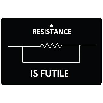 Resistance Is Futile Car Air Freshener