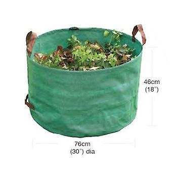 Heavy-Duty-Garten Tasche grün aus Polyethylen