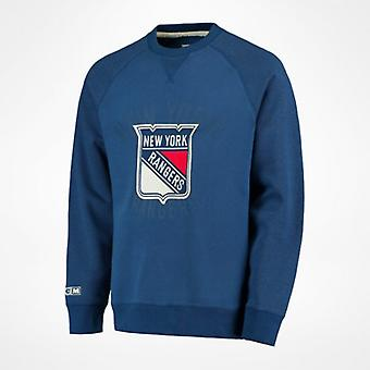 CCM Fleece Crew Sweatshirt 'New York Rangers' senior