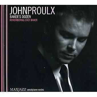 John Proulx - Baker's Dozen (huske Chet Baker) [CD] USA import