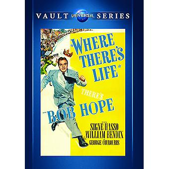Where There's Life [DVD] USA import