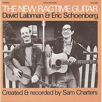Laibman/Schoenberg - New Ragtime Guitar [CD] USA import