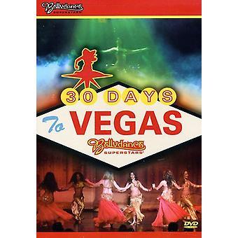 Bellydance superstjerner: 30 dage til Vegas [DVD] USA import