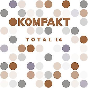 Forskellige kunstnere - Kompakt samlede 14 [CD] USA import