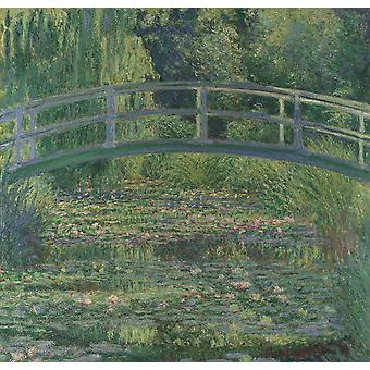 Claude Monet - The Water Liliy Pond Poster Print Giclee