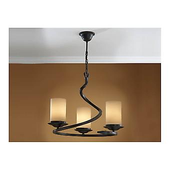 Schuller Crisol 3 Candle Light Ceiling Pendant