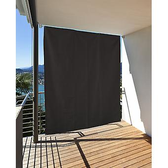 Vertical solar wind protection privacy balcony terrace anthracite l: 230 x w: 140 cm