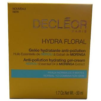 Decléor Paris Hydra Floral Anti-Pollution Hydrating Gel-Cream 50 ml