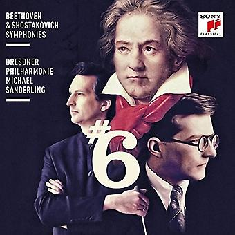 Michael Sanderling - Beethoven & Shostakovich: Symphonies No. [CD] USA import