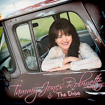 Tammy Jones-Robinette & drev - Tammy Jones Robinette & drev [CD] USA importerer