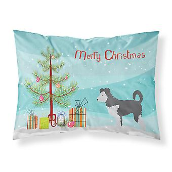 Carolines Treasures  BB8459PILLOWCASE Pumi Christmas Fabric Standard Pillowcase