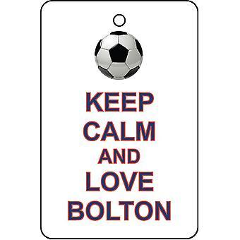 Mantener la calma y amor Bolton ambientador de aire