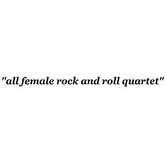 Hun er - alle kvindelige Rock & Roll kvartetten [CD] USA import