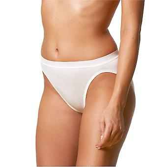 Mey Noblesse White Cotton Jazz-Pant Brief 29944
