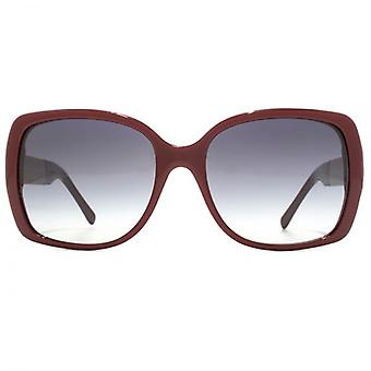 Burberry Oversize Square Sunglasses In Bordeaux