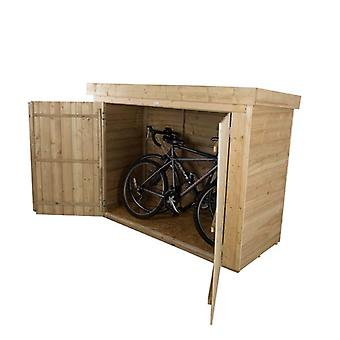 Forest Garden Pressure Treated Pent Large Wooden Outdoor Store