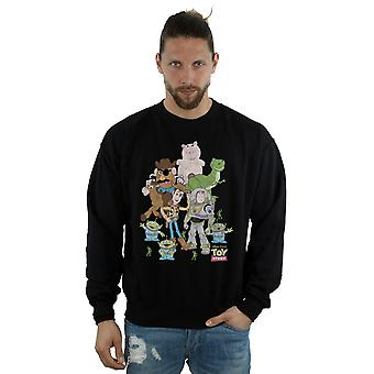 Disney Men's Toy Story Group Shot Sweatshirt