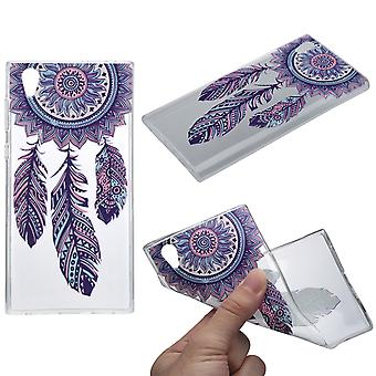 Henna cover for Sony Xperia XA2 case protective cover silicone dream catcher