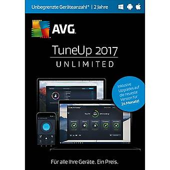 AVG TuneUp Unlimited 2017 Full version, unlimited Windows, Android, Mac OS System optimisation