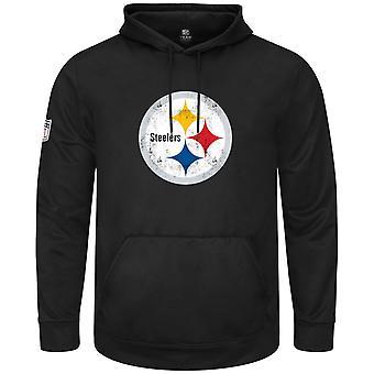 Majestic NFL Hoody - HYPER Pittsburgh Steelers Black