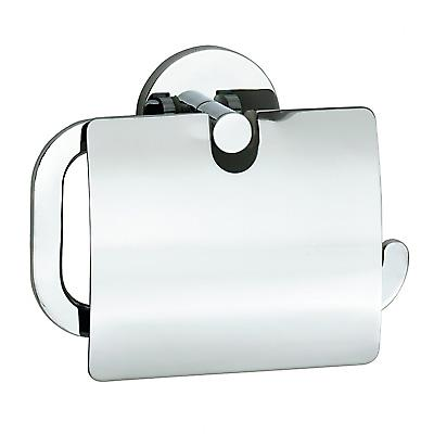Loft Toilet Roll Holder With Flap - Polished Chrome (LK3414)