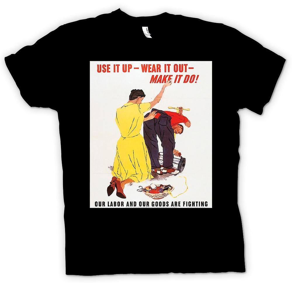 Mens T-shirt - faire faire - War Poster
