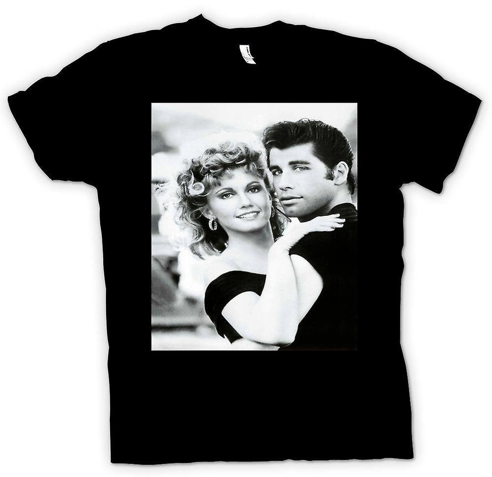 Mens T-shirt - Grease - Sandy And Danny