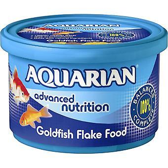 Wassermann Goldfisch Süßwasserfische Flocke komplette Kaltwasser Fische essen 50g