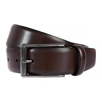 Correa de cuero de Strellson cinturones hombre cinturones cuero marrón 2044
