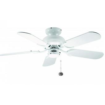 Ceiling Fan Capri White with Pull Cord 91.4 cm / 36