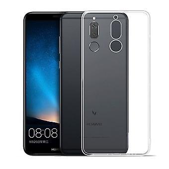 Silikoncase transparent 0,3 mm ultra tunt case för Huawei mate 10 Lite fall täcka nya