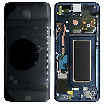 Samsung écran LCD complet set GH97 bleu de 21691D / corail bleu pour Galaxy S9 plus G965F / S9 plus duo G965FD