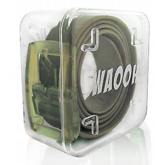 Waooh - Belt Taupe Plastic Waooh