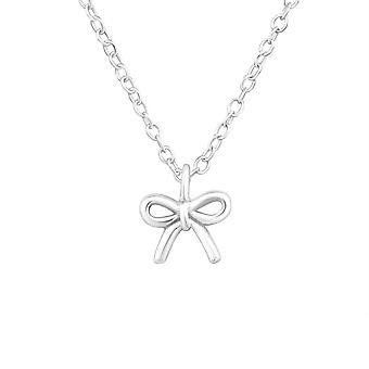 Tie knot - 925 Sterling Silver Plain Necklaces